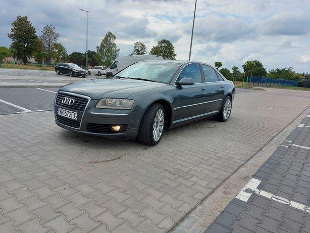 """Audi A8 3.2 FSI Benzyna 260KM LIFT Quattro 19"""" Zadbany Możliwa Zamiana"""