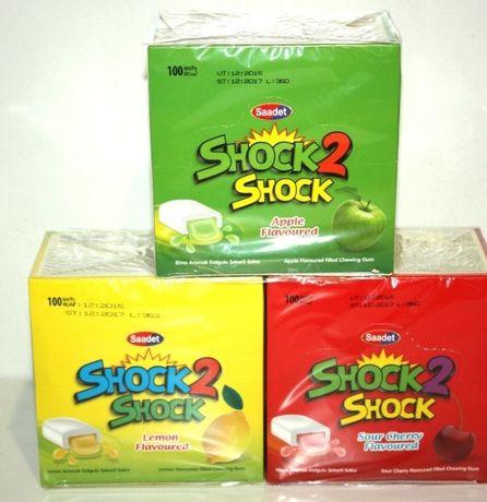 Легендарна жувальна гумка Shock 2 shock!  Полюбилась з дитинства