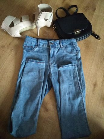 Spodnie Reserved rurki rozm. 38