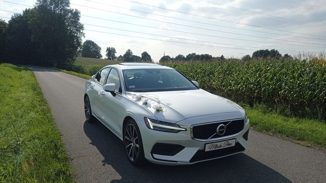 Auto do ślubu 500zł!!! biała perła Volvo S60 2020