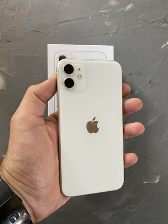 Apple iPhone 11 64 Gb White Идеальное состояние Неверлок