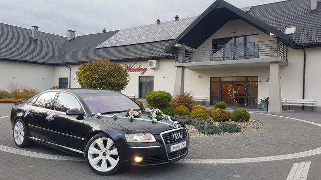 Auto do Ślubu - TRANSPORT - Audi A8, Wesele, Auto, Transfer, Ślub