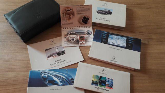 Manuais Livros de Instruções Mercedes-Benz S Classe W220