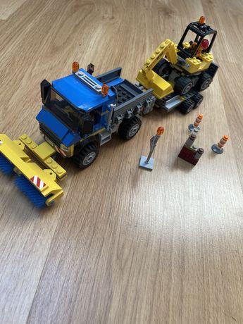 Lego City 60152 Zamiatacz ulic i koparka