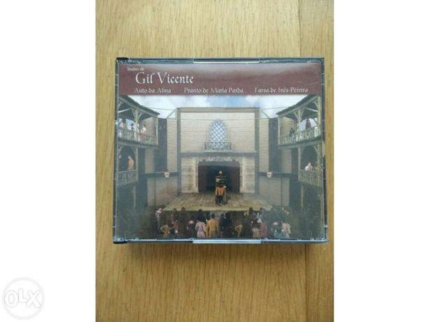CDs teatro de Gil Vicente