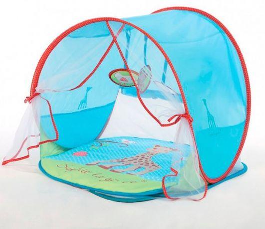 Развивающий коврик палатка  tiny love