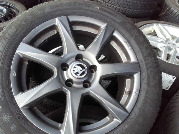 felgi aluminiowe skoda 5x112 7.5J x 17 ( J 276.1 )