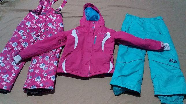 Костюм лыжный детский для девочки -No Fear 7-8 лет
