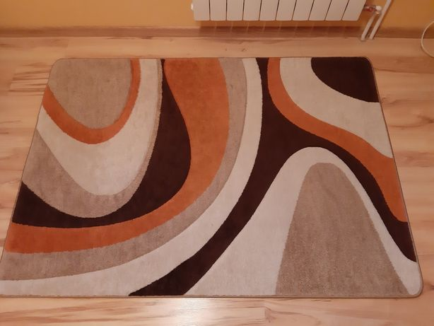 Dywan orange brown 120x170
