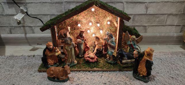 Рождественский Вертеп с подсветкой!
