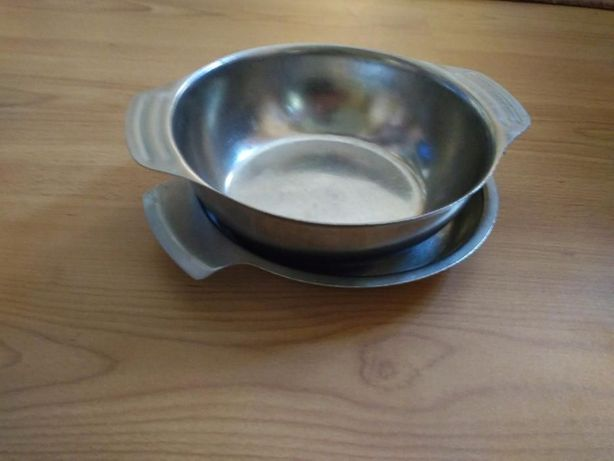 Продам тарілки із нержавіючого металу