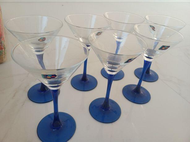 Набор бокалов для мартини luminarc 7шт. oceane saphir