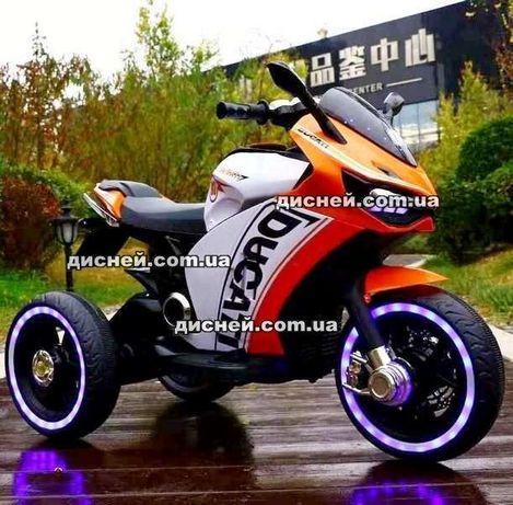 Детский мотоцикл ДДГ4053, электромобиль, Дитячий електромобiль