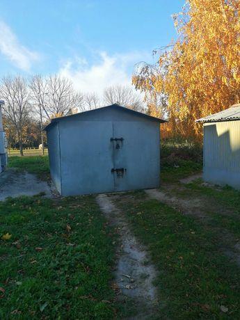 Garaż blaszany używany