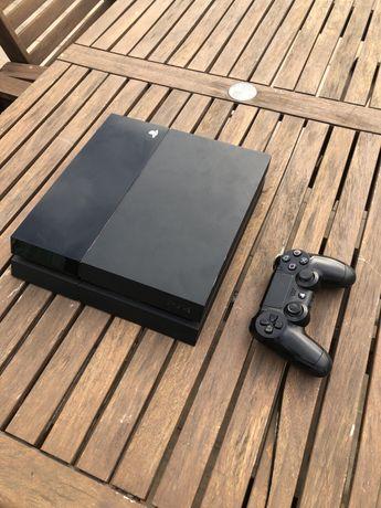 PS4 + 1 Jogo + Comando