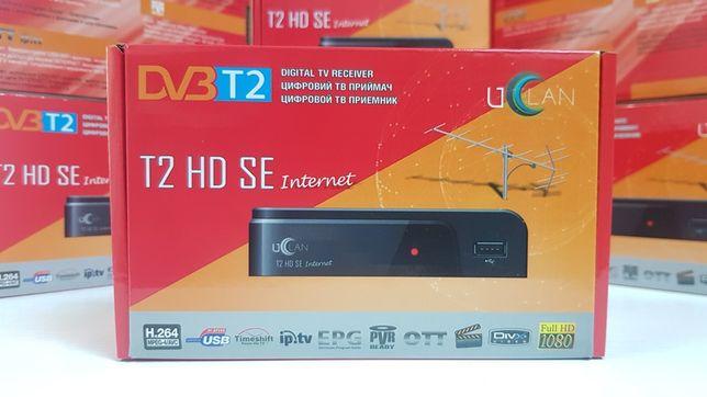 НОВЫЙ Гарантия тюнер т2 Uclan T2 HD SE DVB-C ресивер приемник декодер
