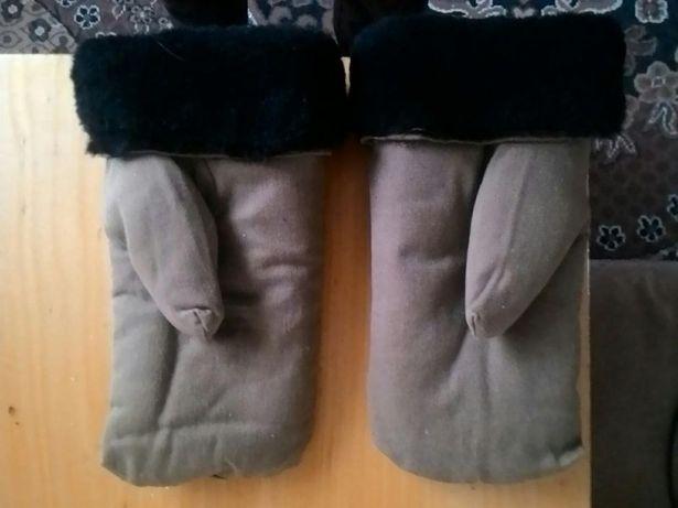 Перчатки меховые
