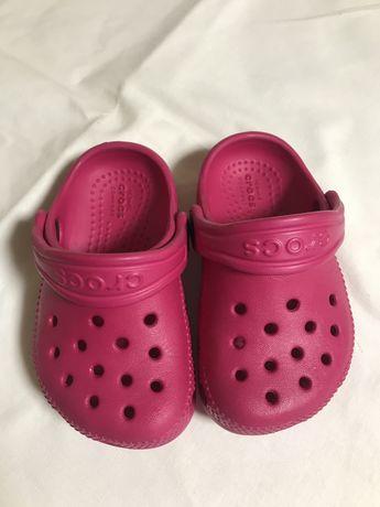 Шлепки  кроксы crocs 22 p