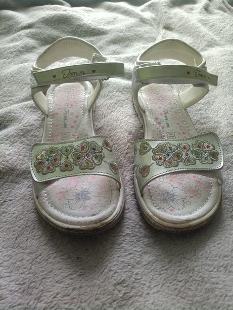 Нарядні сандалі/босоніжки
