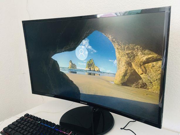 Новый Компьютерный Монитор SAMSUNG 27 в пленках