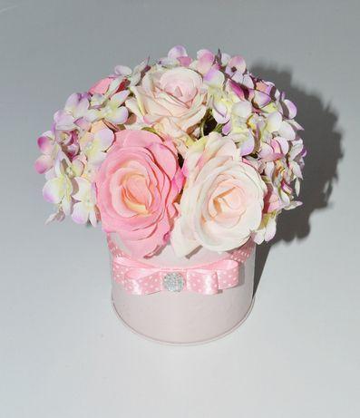 Kwiaty w pudełku Flower box