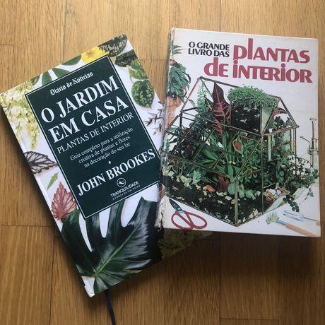 Livros de jardinagem e plantas
