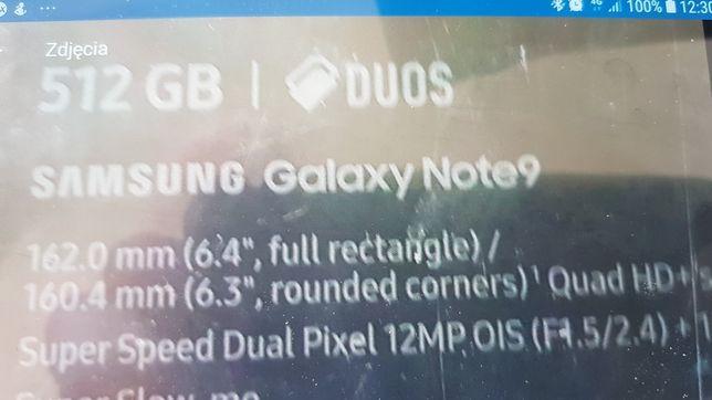 Samsung 9Note 512 gbDual SIM lavender purple