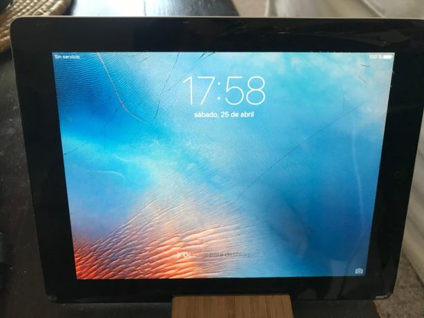 Ipad 2 tem o ecrã estalado