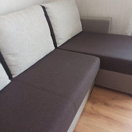Narożnik kanapa łóżko rozkładane