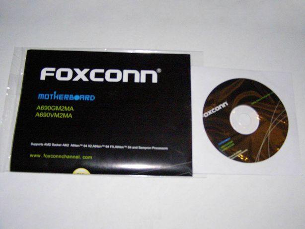 Диск с драйверами к материнской плате FOXCONN. Цена 35 руб.