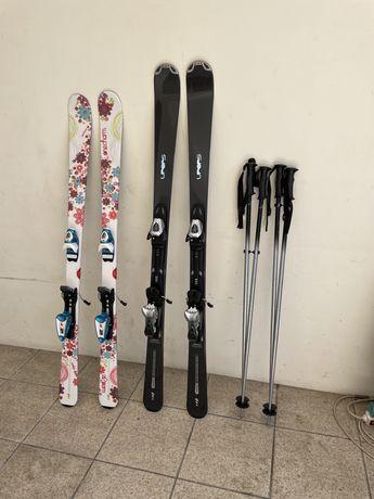 Material ski NOVO