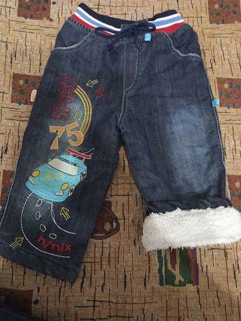 Теплые джинсики!!!