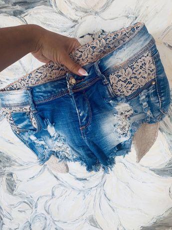 Nowe M jeans spodenki