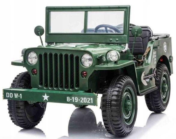 OGROMNE auto na akumulator jeep 4x4 do 60kg 3 osobowe HIT