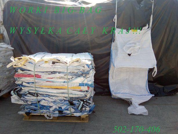 Worki Big Bag duże ilości 80/100/145 cm metale kolorowe