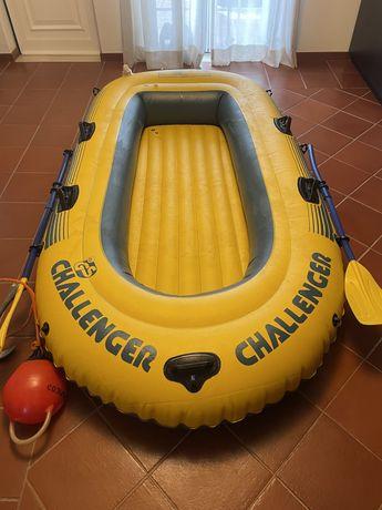 Barco Insuflável 2 adutlos + 2 crianças