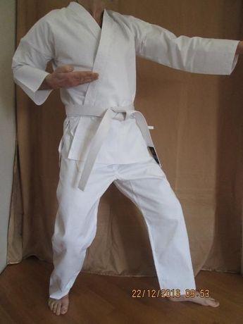 кимоно кімоно для карате дзюдо джиу джитсу айкидо белое Matsa Wolf