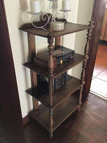 estante, livreiro,  prateleiras, vintage, rustico
