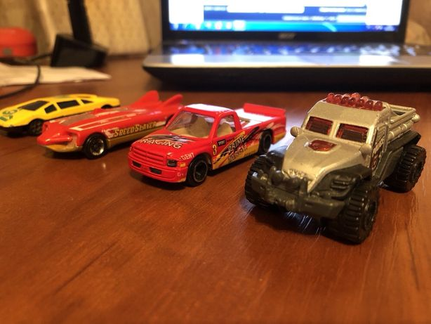 Машинки на 3-7 лет