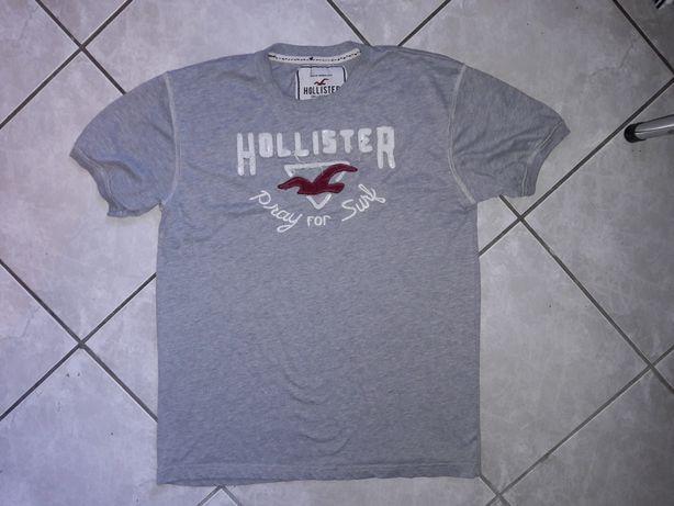 Hollister meski szary t-shirt r. 2XL