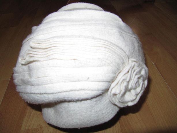 женская шапка, берет