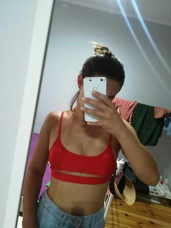 NOWY strój kąpielowy bikini brazylijskie top S