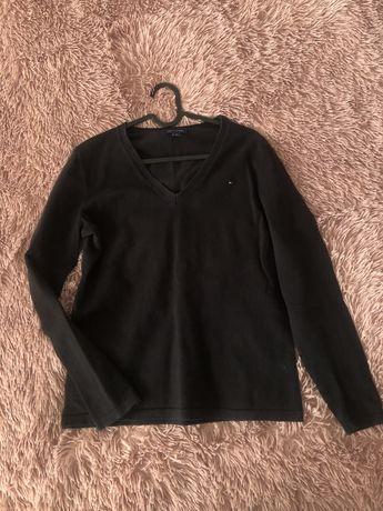 Czarny sweter sweterek TH Tommy Hilfiger