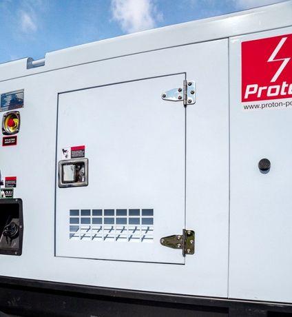 Agregat prądotwórczy przemysłowy 230/400 ZABUDOWANY 30-100 kVA