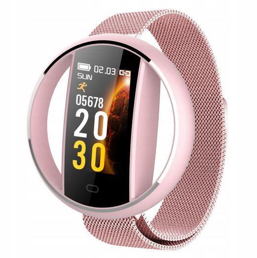 Zegarek smartwatch fashion mesh kroki puls 3kolory