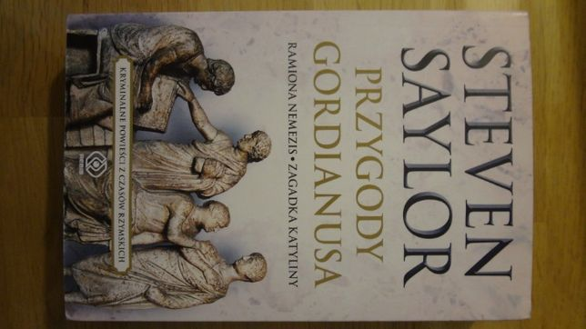Książka Stevena Saylora - Przygody Gordianusa