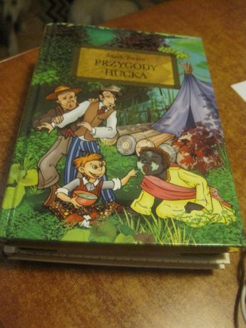 książka dla dzieci Przygody Hucka Mark Twain NOWA Greg