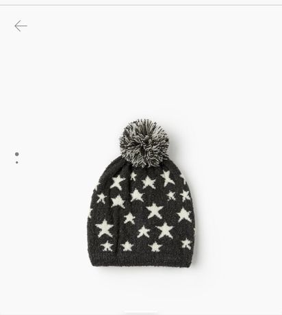 шапка zara