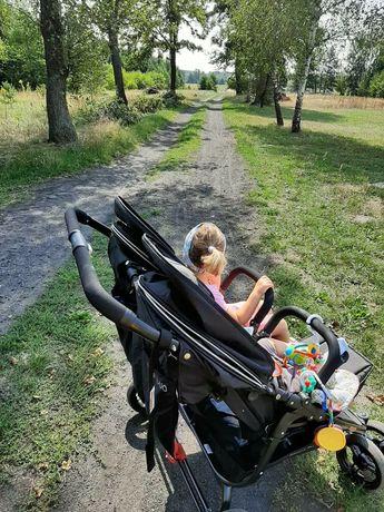Wózek dla dzieci rok po roku, dla bliźniąt Valco Duo
