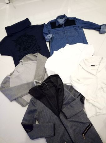 Paka zestaw ubrań sweter tunika koszula M 38 motivi reserved mohito